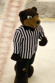 Blades the Bruin serves as the official mascot for the Boston Bruins.