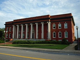 Sikes Hall is the principal administration building of Clemson.