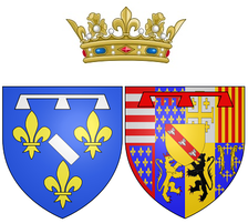 Coat of arms of Mary as Duchess of Longueville