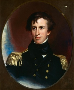 Lt. Charles Wilkes, U.S.N., commander of the U.S. Navy's United States Exploring Expedition, 1838–42