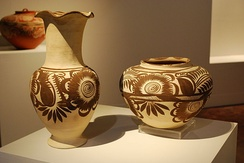 Contemporary pottery from the State of Hidalgo, Mexico