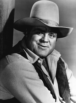 Dan Blocker in Bonanza