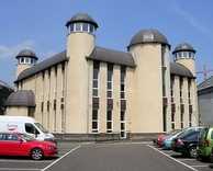 Dundee Central Mosque, the first in Scotland built for that purpose