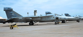 General Dynamics EF-111A, AF Ser. No. 67-0035 of the 429th/430th Electronic Combat Squadron, Cannon AFB, NM.