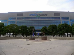 Vivint Smart Home Arena has been the home of the Utah Jazz since 1991.