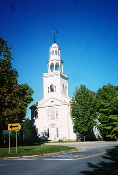 First Congregational Church of Bennington, in Bennington County