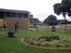 View of Nigerian National Museum in Lagos
