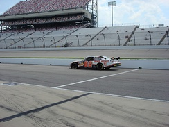 Logano's first Cup practice at Richmond International Raceway