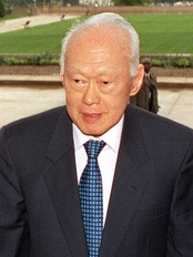 Lee Kuan Yew, the first Prime Minister, is also recognised as Singapore's founding father.