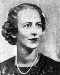 Jean Knox Ellis Poletti, President, New York State League of Women Voters, May, 1938. She resigned when her husband became a candidate for Lieutenant Governor