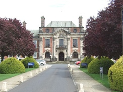 County Hall, Northallerton. North Yorkshire County Council is a major employer in the town.