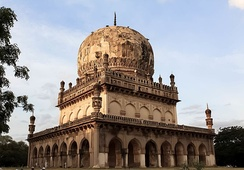One of the Qutb Shahi Tombs
