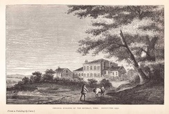 The York Retreat (c. 1796) was built by William Tuke, a pioneer of moral treatment for the insane.