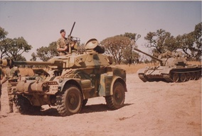 Troops of the Rhodesian Armoured Corps in 1979.