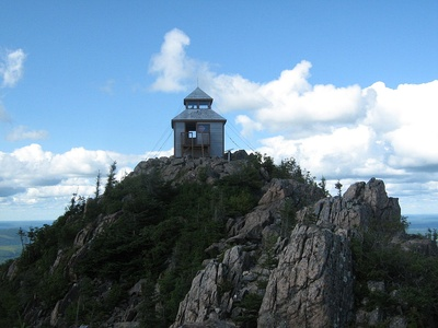Mount Carleton is the highest summit of New Brunswick.
