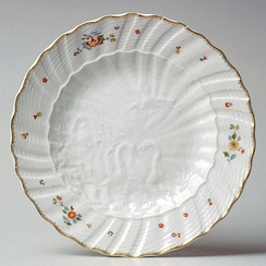 Plate from the Swan Service