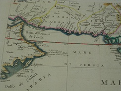 The western part of the Indian Ocean, by Vincenzo Maria Coronelli, 1693 from his system of global gores the Makran coast