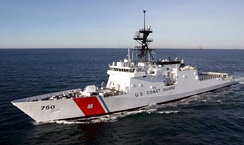USCGC Bertholf (WMSL-750), the first Legend-class national security cutters