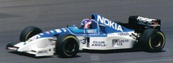 Fondmetal sponsored the Tyrrell team in 1995.