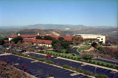 Ronald Reagan Presidential Library located in Simi Valley, California