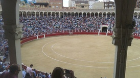 Albacete Bullring, for up to 12 000 spectators.