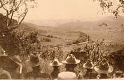 The 3rd Wisconsin awaits orders to charge the Spanish at Coamo