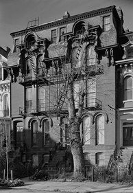 Bruce's house at 909 M Street NW in Washington, D.C. was declared a National Historic Landmark in 1975
