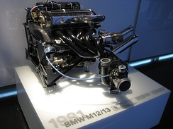 BMW Formula One Engine M12/13, 1500cc turbocharged inline 4