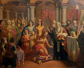 Baptism of the Preslav Court by Nikolai Pavlovich (date of completion unknown)
