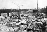 The New Reich Chancellery under construction in 1938.