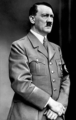 The Nazi dictator Adolf Hitler was raised a Catholic, but came to disdain the religion.