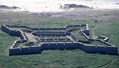 Prince of Wales Fort in Churchill, Manitoba was one of the first two sites designated in Western Canada.[9]