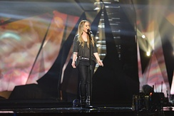 Anouk at the dress rehearsal of the Eurovision Song Contest 2013