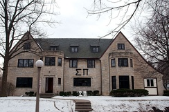 Sigma Pi house at the University of Illinois at Urbana