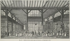 Galeries de bois at au Palais-Royal, one of the earliest shopping arcades in Europe