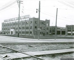Although the General Motors factory in Regina (pictured in 1928) was closed and left derelict in the Depression, it found new use and returned to vitality during World War II.