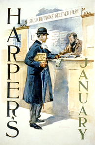Harper's Monthly, a literary and political force in the late 19th century