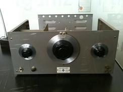The HP200A, a precision audio oscillator, was the company's very first financially successful product.