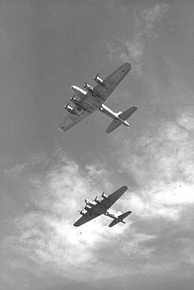 Israeli B-17s in flight