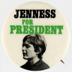 In 1972, Linda Jenness ran for President of the United States, although she was 31 at the time.