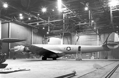 An EC-121D of the 552nd AEWCW at McClellan AFB.