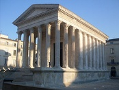 Jefferson modeled Virginia's capitol on the Maison Carrée.
