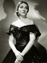 Maria Callas, one of the most renowned and influential opera singers of the 20th century