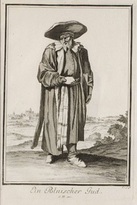 A Polish Jew in an engraving from 1703