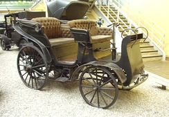 Präsident, the first factory made car in Central and Eastern Europe in 1897