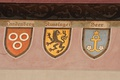 coats of arms of families from Rapperswil, among them Landenberg, Russinger, Heer ...