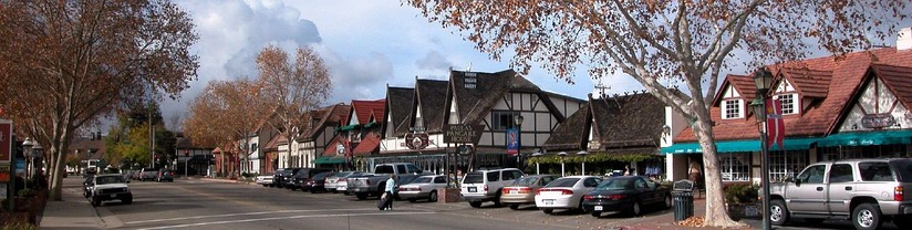Solvang street view