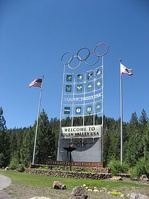 The Olympics Sign at Squaw Valley