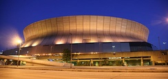 The game was held at the Louisiana Superdome.