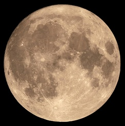 14 November 2016 supermoon was 356,511 kilometres (221,526 mi) away[141] from the center of Earth, the closest occurrence since 26 January 1948. It will not be closer until 25 November 2034.[142]